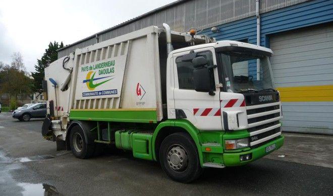 camion collecte