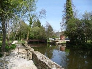 étang du moulin Daoulas