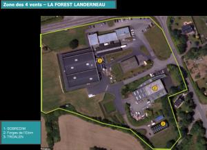 LA FOREST LANDERNEAU _ ZAE LES 4 VENTS