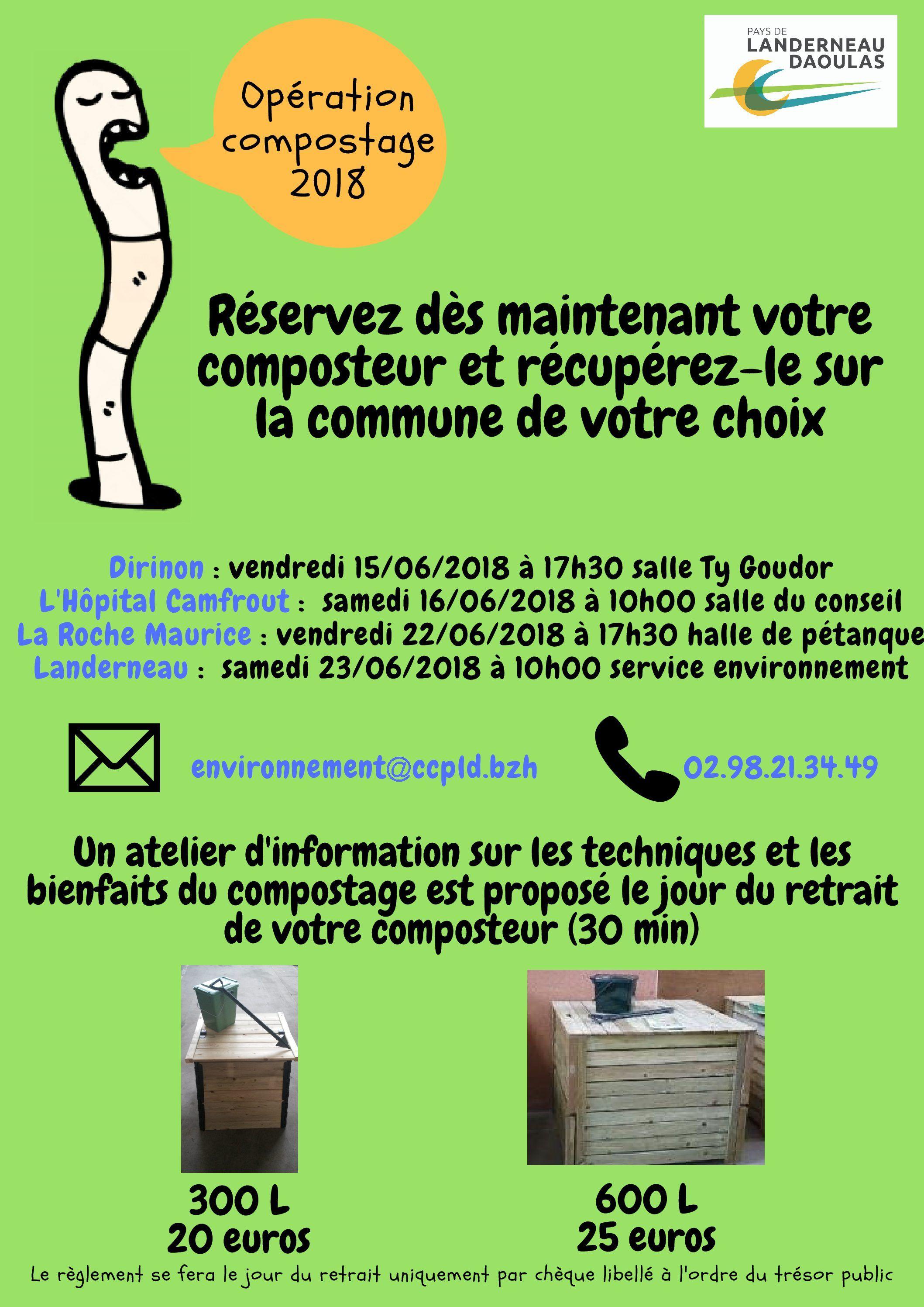 affiche compostage 2018